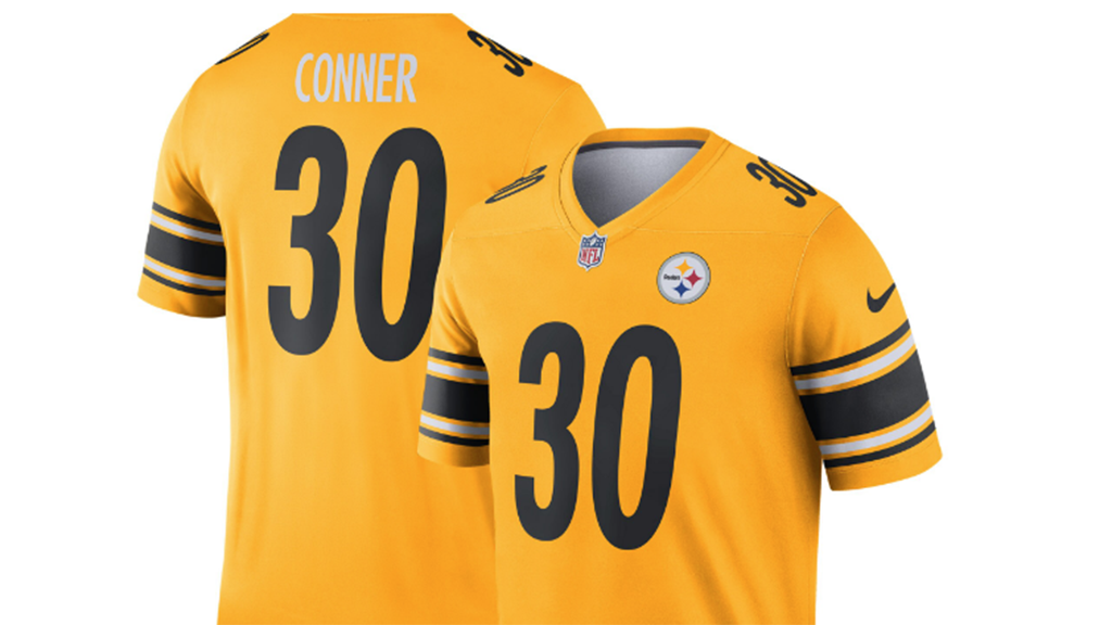 steelers inverted jersey