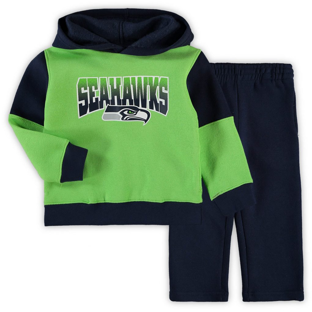 Toddler Neon Green/College Navy Seattle Seahawks S new nfl jerseys 2022 release date